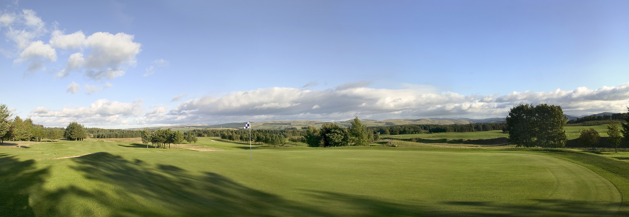 The 7th at West Linton Golf Club